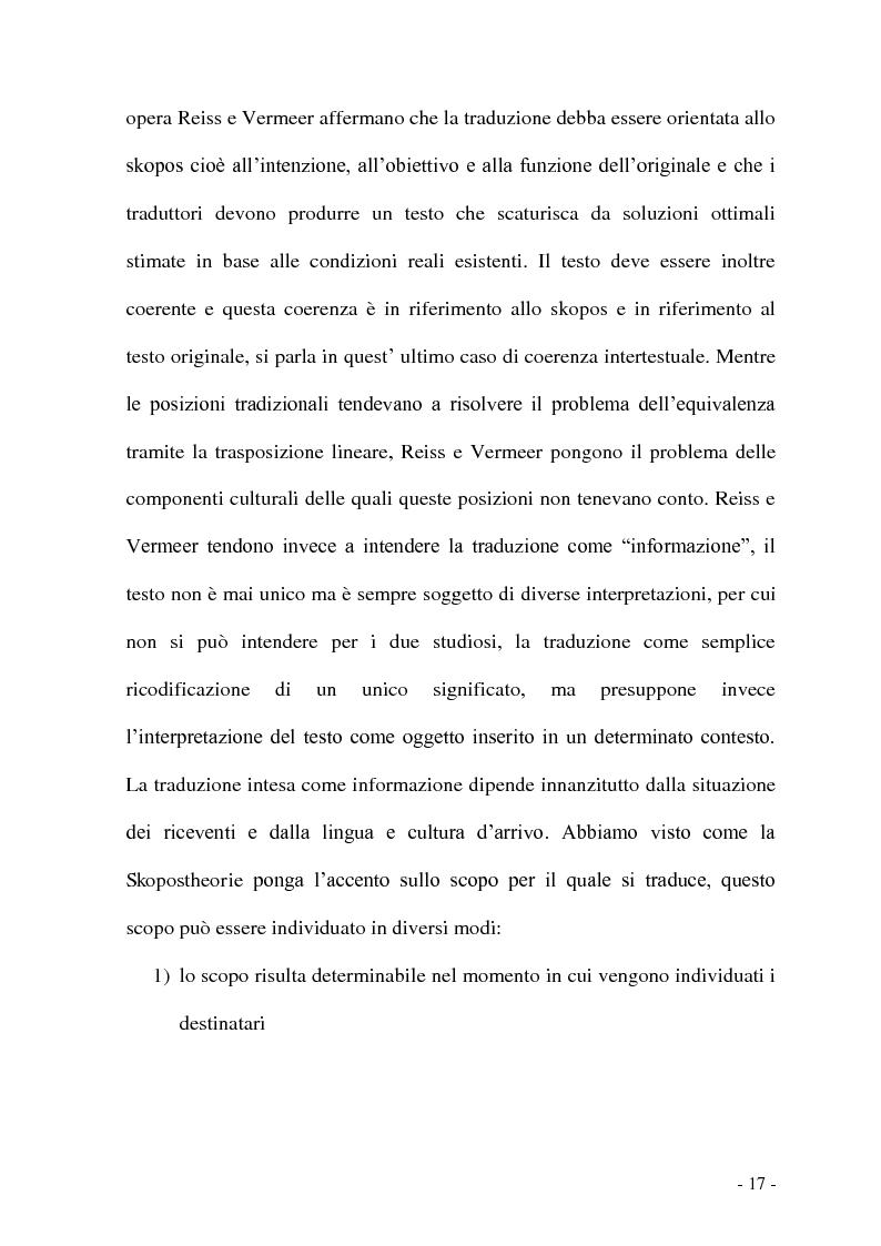 Anteprima della tesi: Problemi e/o difficoltà nella traduzione specializzata in ambito bancario, Pagina 12