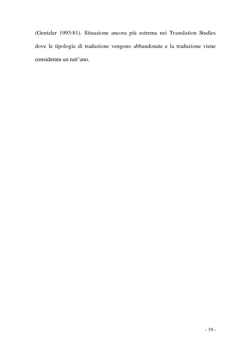 Anteprima della tesi: Problemi e/o difficoltà nella traduzione specializzata in ambito bancario, Pagina 14