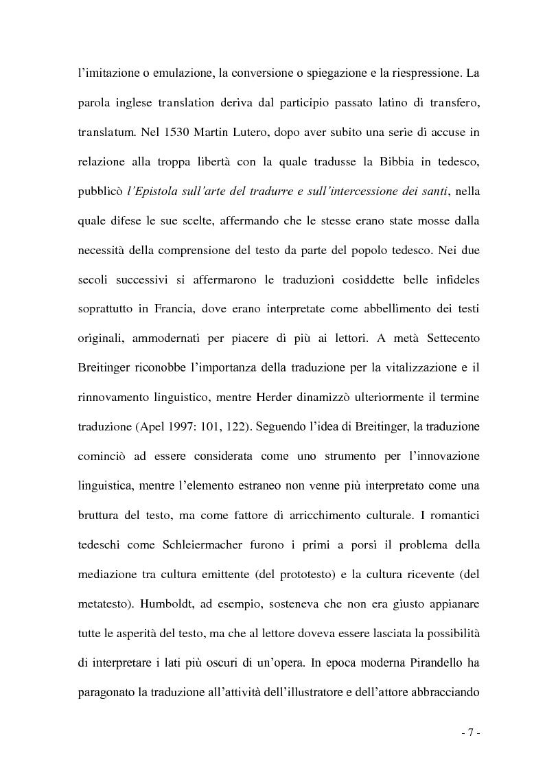 Anteprima della tesi: Problemi e/o difficoltà nella traduzione specializzata in ambito bancario, Pagina 2