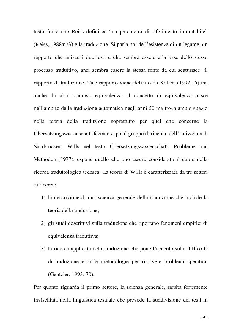 Anteprima della tesi: Problemi e/o difficoltà nella traduzione specializzata in ambito bancario, Pagina 4