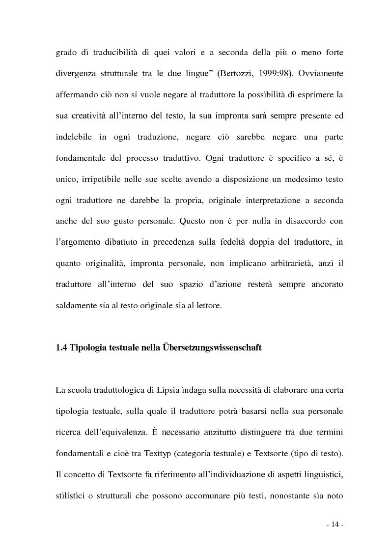 Anteprima della tesi: Problemi e/o difficoltà nella traduzione specializzata in ambito bancario, Pagina 9
