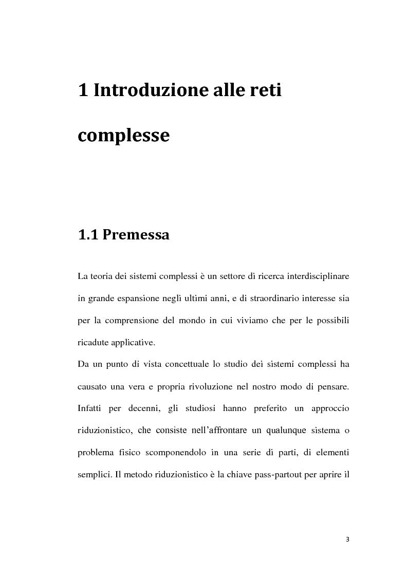 Anteprima della tesi: Stima adattativa dei guadagni di accoppiamento in una rete di sistemi dinamici sincronizzati, Pagina 1