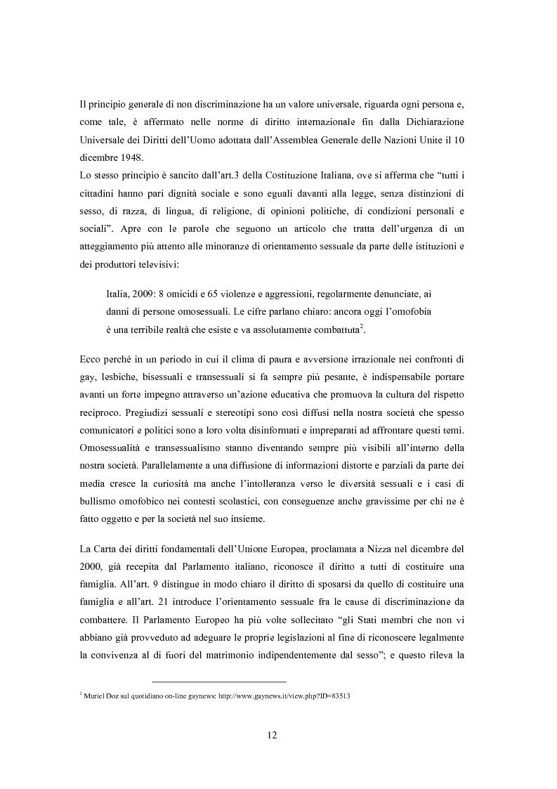 Anteprima della tesi: ''Il vizietto delle piume di struzzo'' - Vecchi stereotipi e nuovi omosessuali nelle rappresentazioni di cinema e televisione, Pagina 2