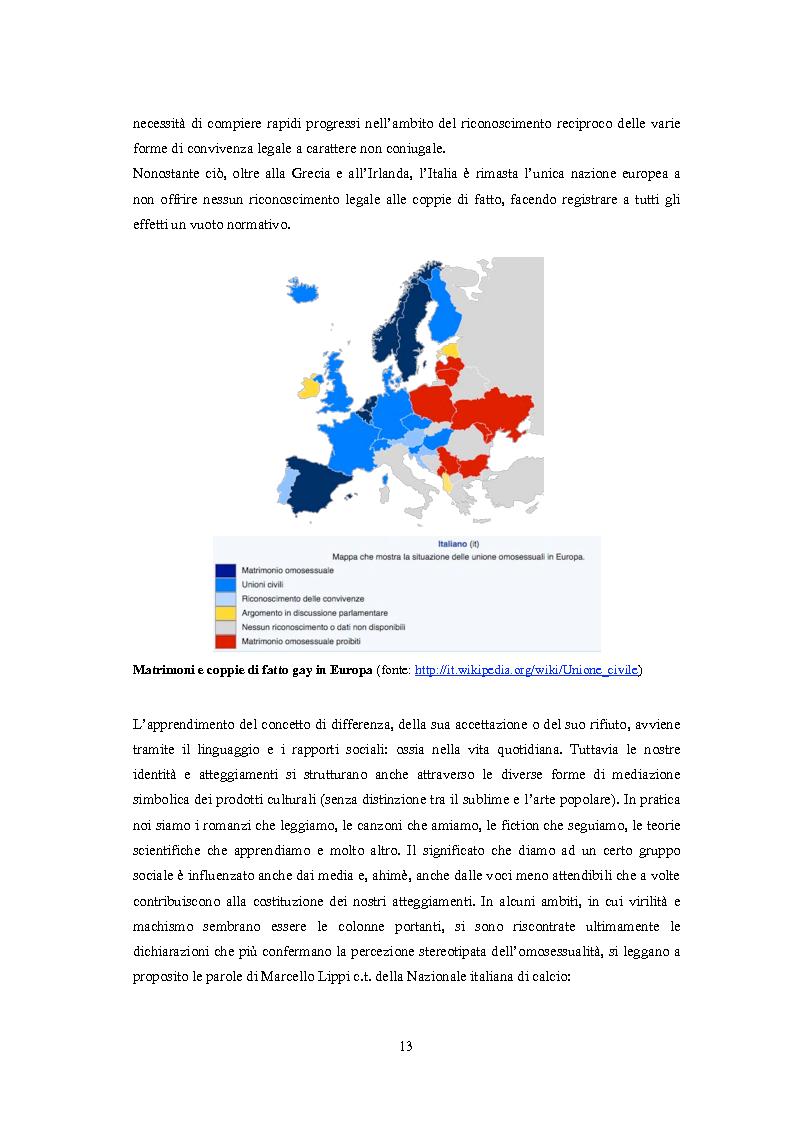 Anteprima della tesi: ''Il vizietto delle piume di struzzo'' - Vecchi stereotipi e nuovi omosessuali nelle rappresentazioni di cinema e televisione, Pagina 3