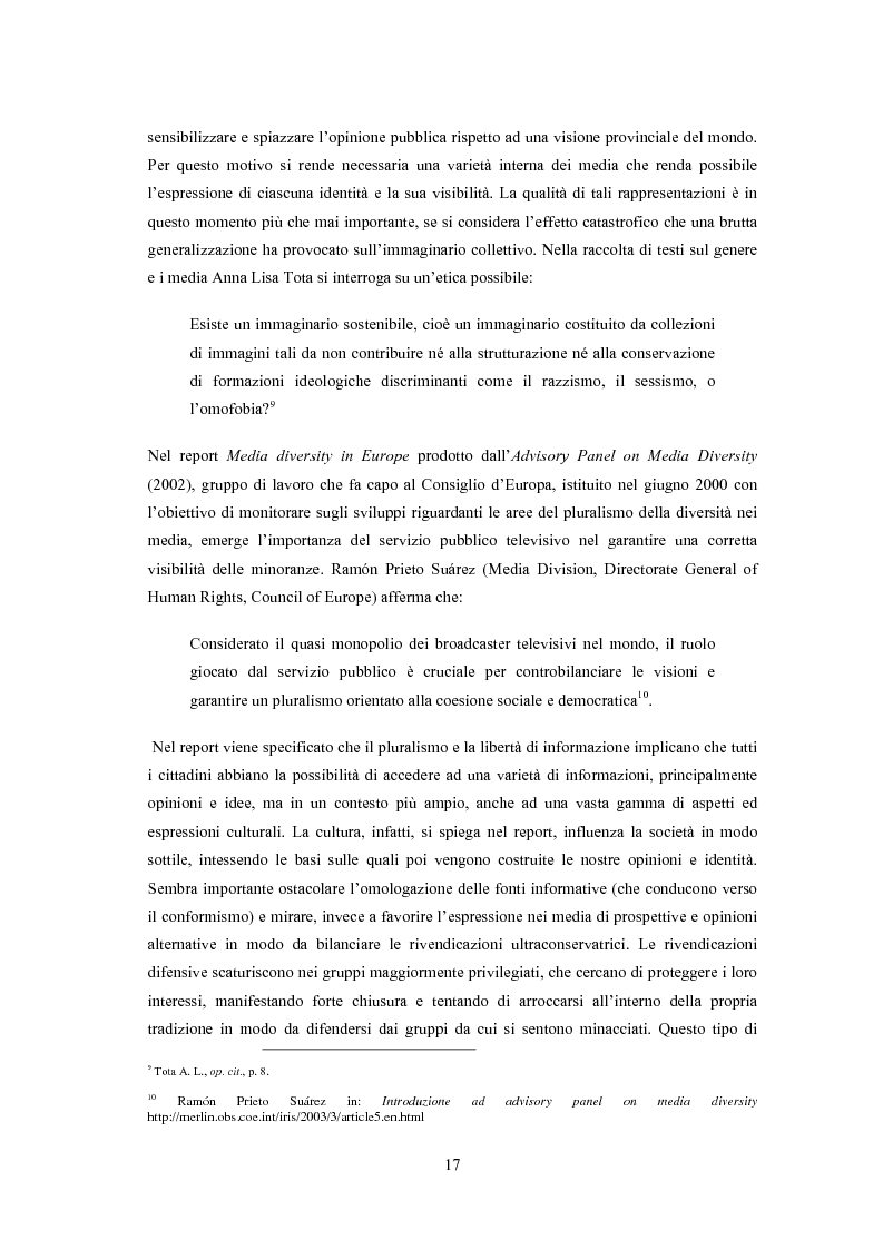 Anteprima della tesi: ''Il vizietto delle piume di struzzo'' - Vecchi stereotipi e nuovi omosessuali nelle rappresentazioni di cinema e televisione, Pagina 7