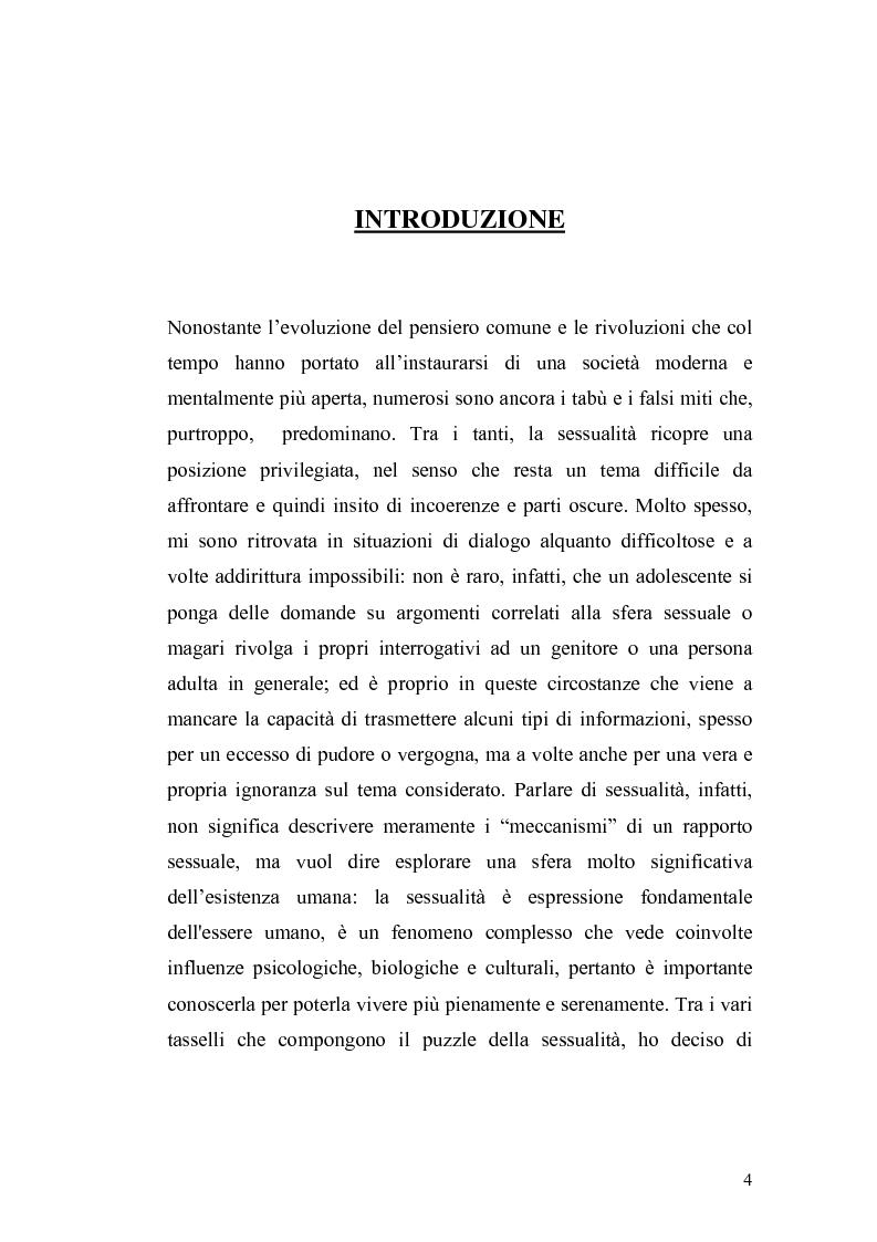 Anteprima della tesi: La contraccezione: ruolo dell'ostetrica nell'educazione contraccettiva in età adolescenziale, Pagina 1