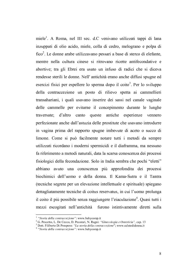 Anteprima della tesi: La contraccezione: ruolo dell'ostetrica nell'educazione contraccettiva in età adolescenziale, Pagina 5