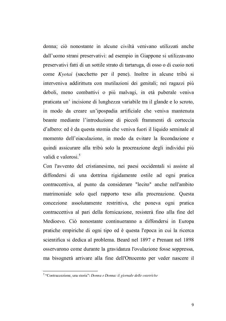Anteprima della tesi: La contraccezione: ruolo dell'ostetrica nell'educazione contraccettiva in età adolescenziale, Pagina 6