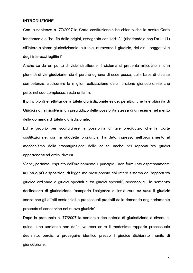 Anteprima della tesi: Per l'unità della giurisdizione, Pagina 2