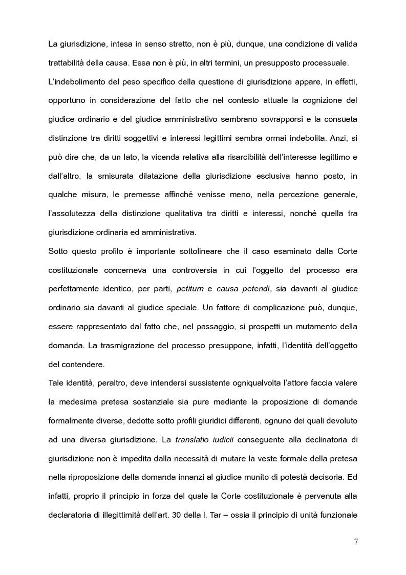 Anteprima della tesi: Per l'unità della giurisdizione, Pagina 3
