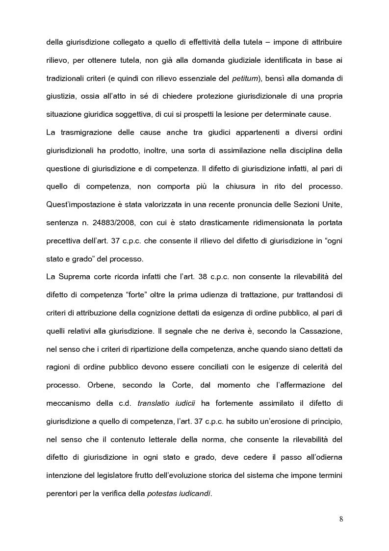 Anteprima della tesi: Per l'unità della giurisdizione, Pagina 4