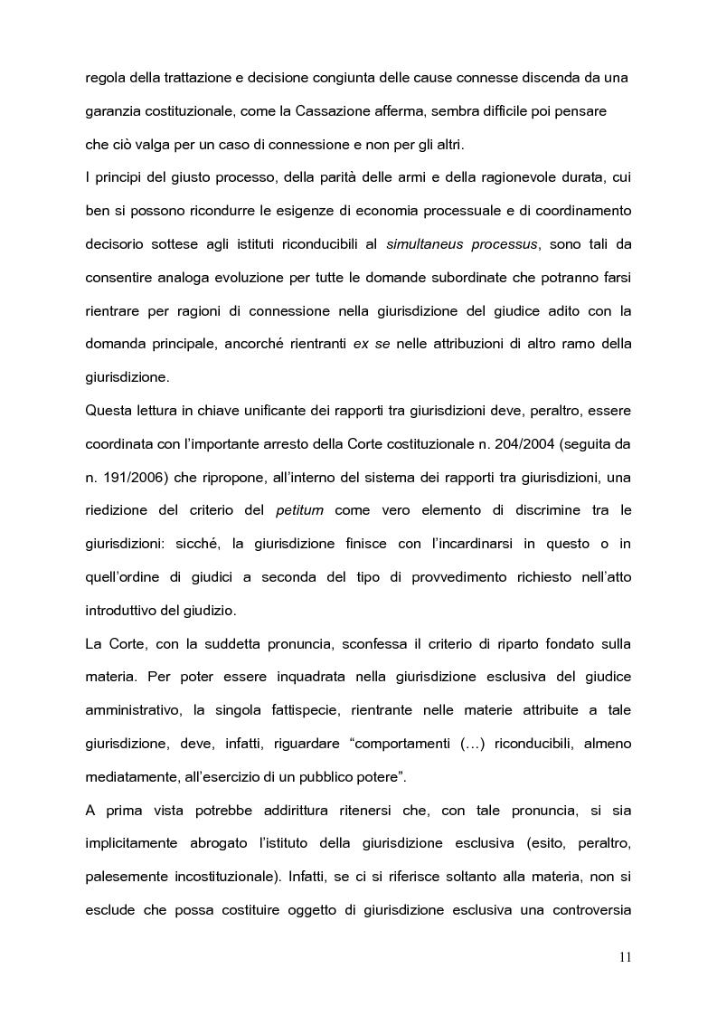 Anteprima della tesi: Per l'unità della giurisdizione, Pagina 7