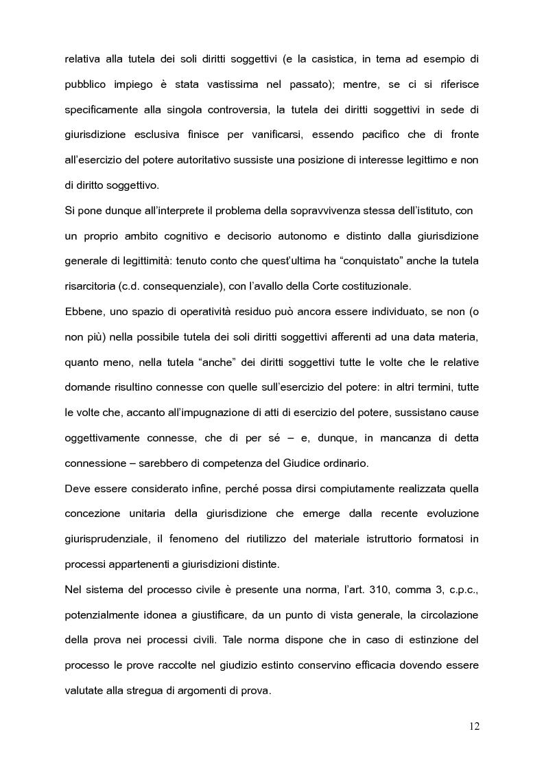 Anteprima della tesi: Per l'unità della giurisdizione, Pagina 8