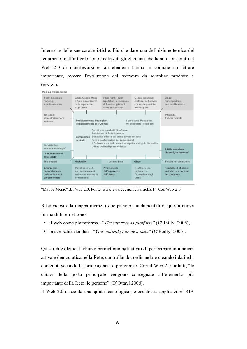 Anteprima della tesi: La comunicazione del brand nell'era del Web 2.0, Pagina 11