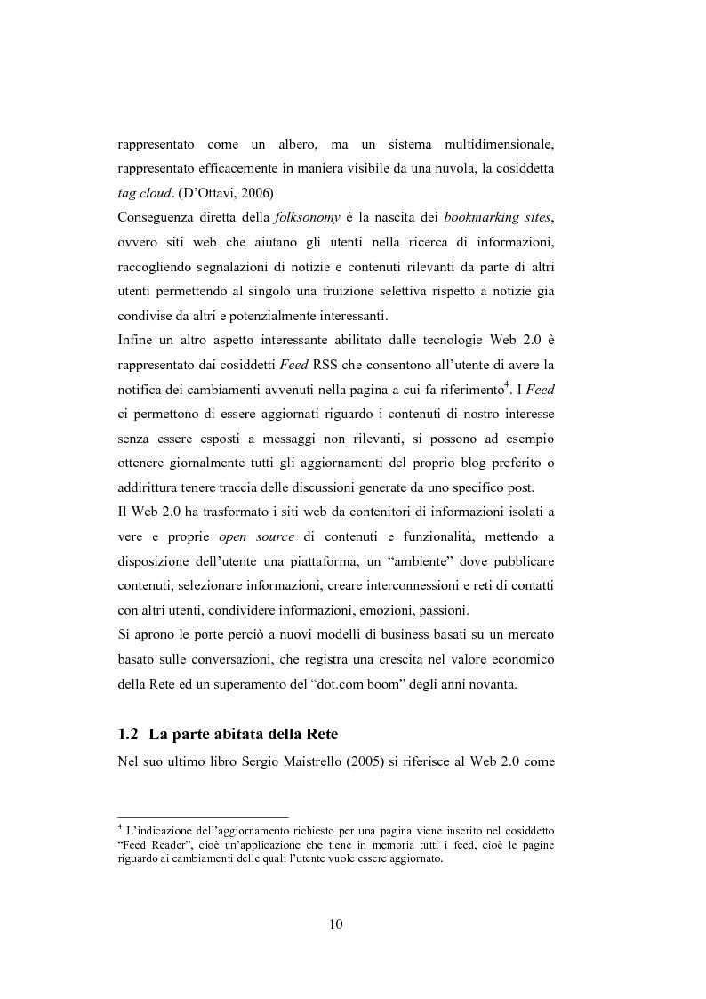 Anteprima della tesi: La comunicazione del brand nell'era del Web 2.0, Pagina 15