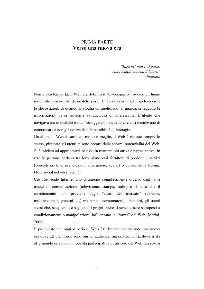 Anteprima della tesi: La comunicazione del brand nell'era del Web 2.0, Pagina 6