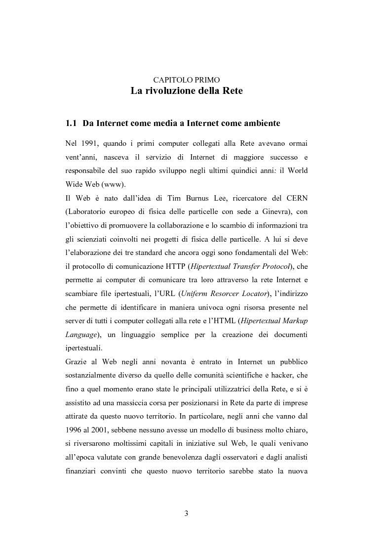 Anteprima della tesi: La comunicazione del brand nell'era del Web 2.0, Pagina 8
