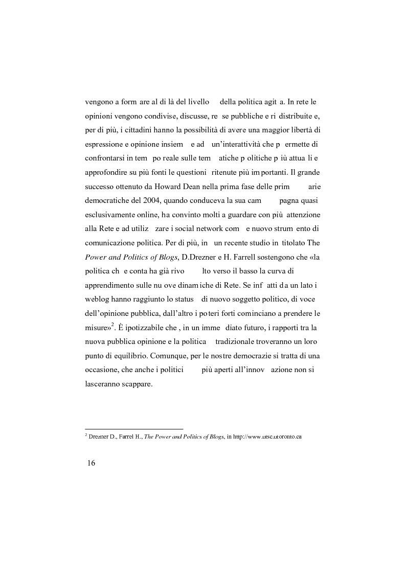 Anteprima della tesi: I social network, Pagina 11