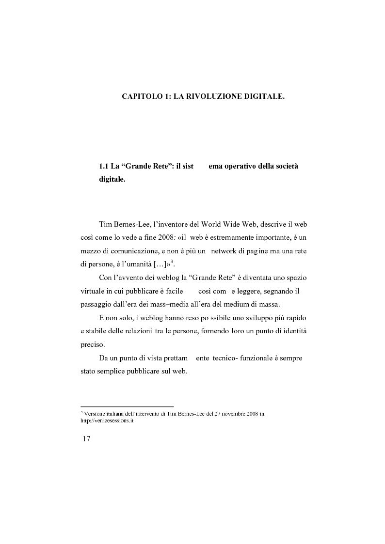 Anteprima della tesi: I social network, Pagina 12