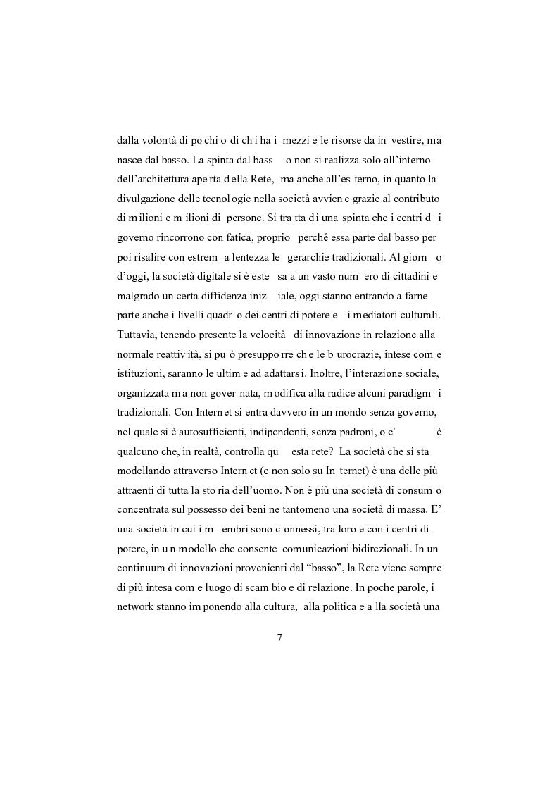 Anteprima della tesi: I social network, Pagina 2