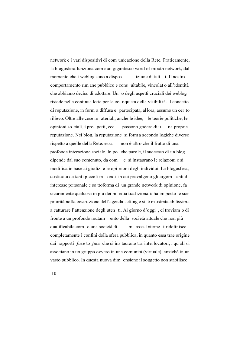 Anteprima della tesi: I social network, Pagina 5
