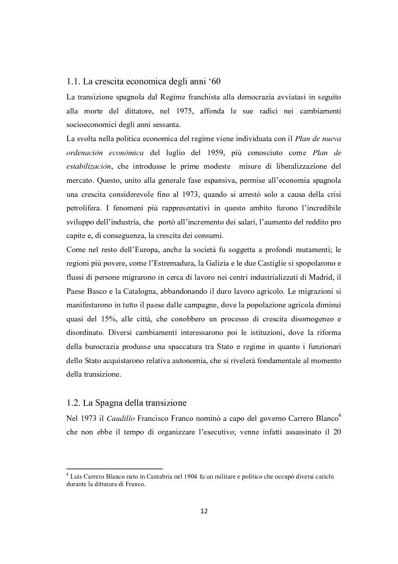Anteprima della tesi: Jose Luis Rodriguez Zapatero: politica e comunicazione nelle elezioni del 2004, Pagina 7
