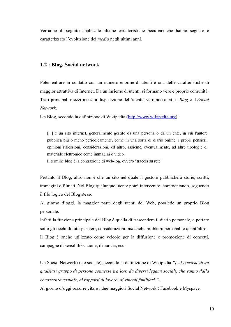 Anteprima della tesi: Lingua, linguaggio ed interazione sociale nel World Wide Web, Pagina 6