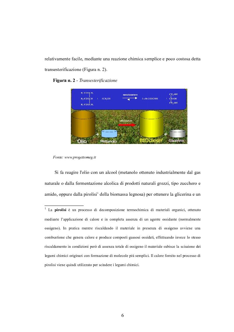 Anteprima della tesi: I biocarburanti, Pagina 6