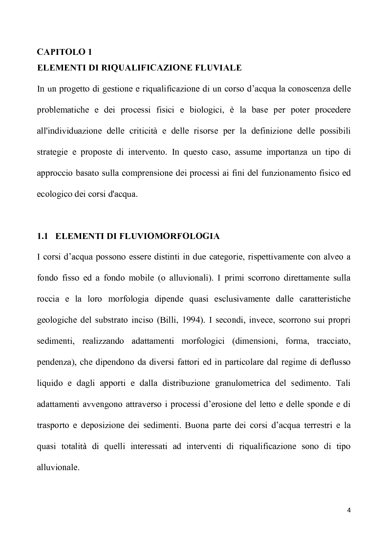 Anteprima della tesi: Il torrente Molgora: ipotesi per interventi di riqualificazione ambientale, Pagina 1