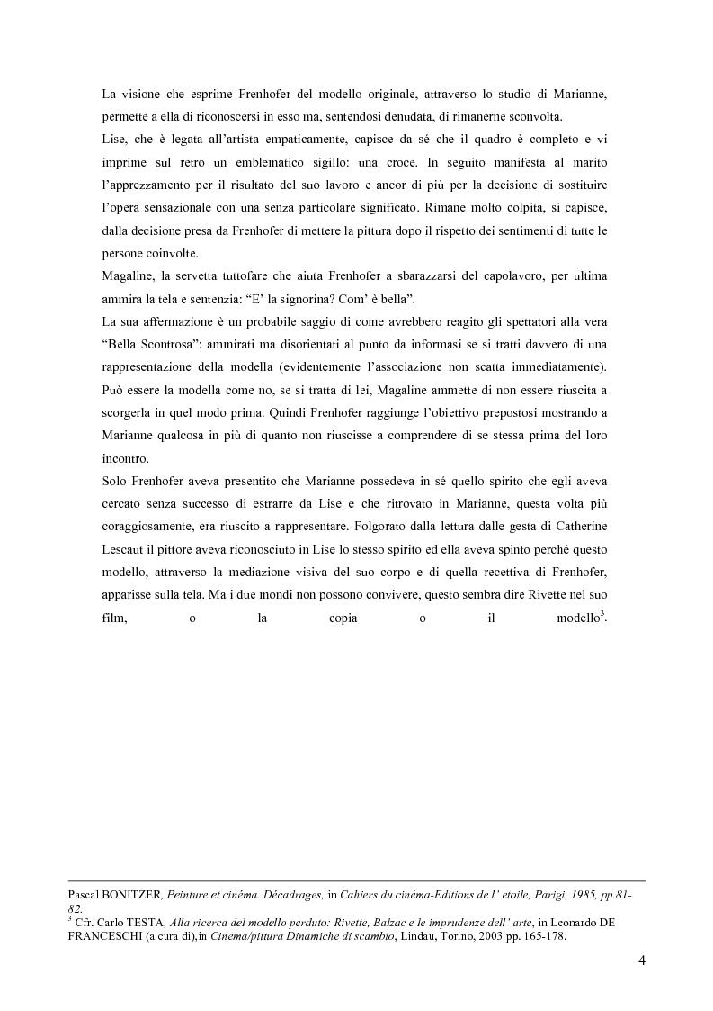 Anteprima della tesi: La Bella Scontrosa - Jacques Rivette tra cinema e pittura, Pagina 3