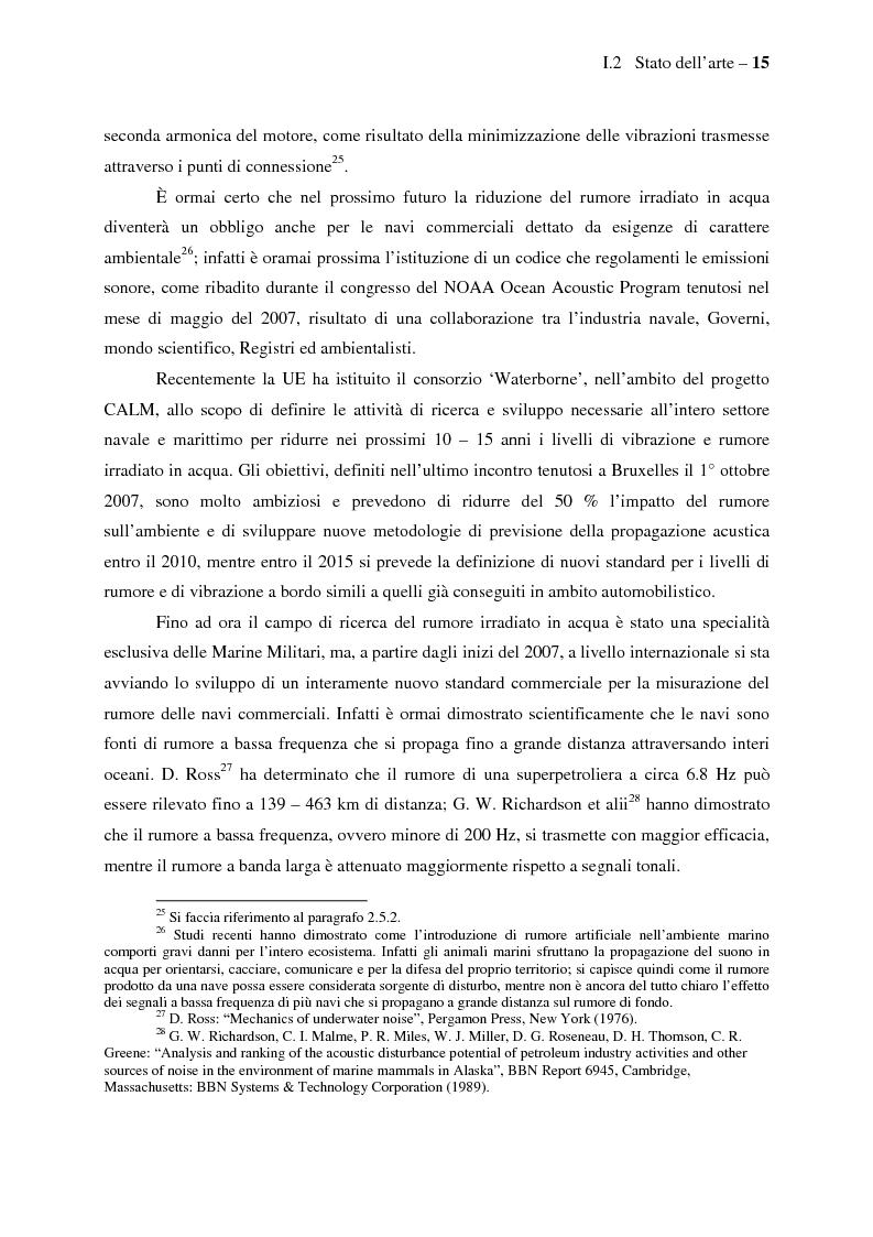 Anteprima della tesi: Il controllo attivo del rumore e delle vibrazioni a bordo delle navi - Stato dell'arte e prospettive future, Pagina 15