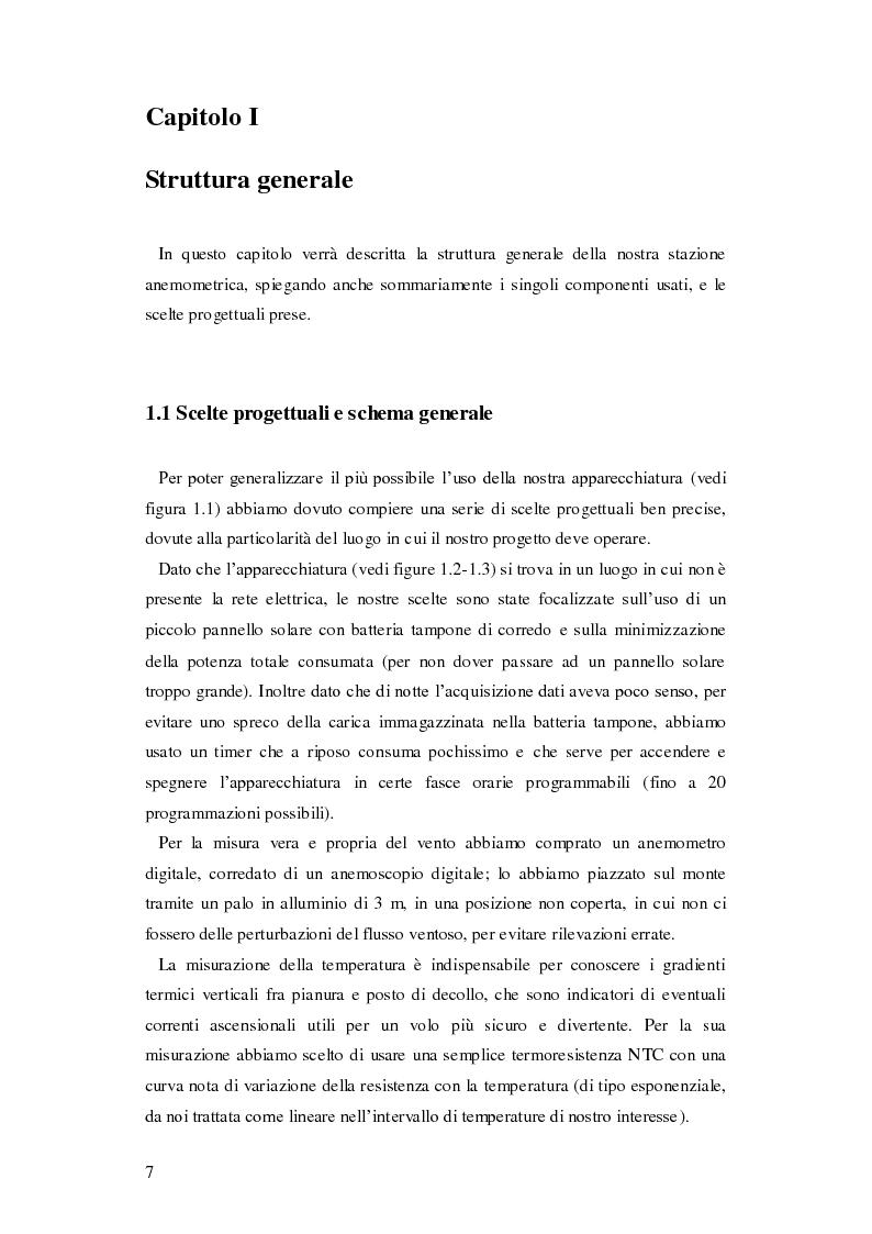 Anteprima della tesi: Progettazione di una stazione anemometrica: aspetti software, Pagina 3