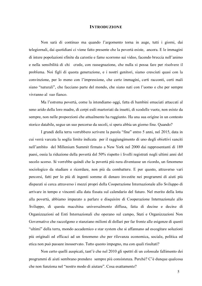Anteprima della tesi: La Cooperazione Internazionale allo Sviluppo, breve excursus storico (anni 1950 - 1990), Pagina 1