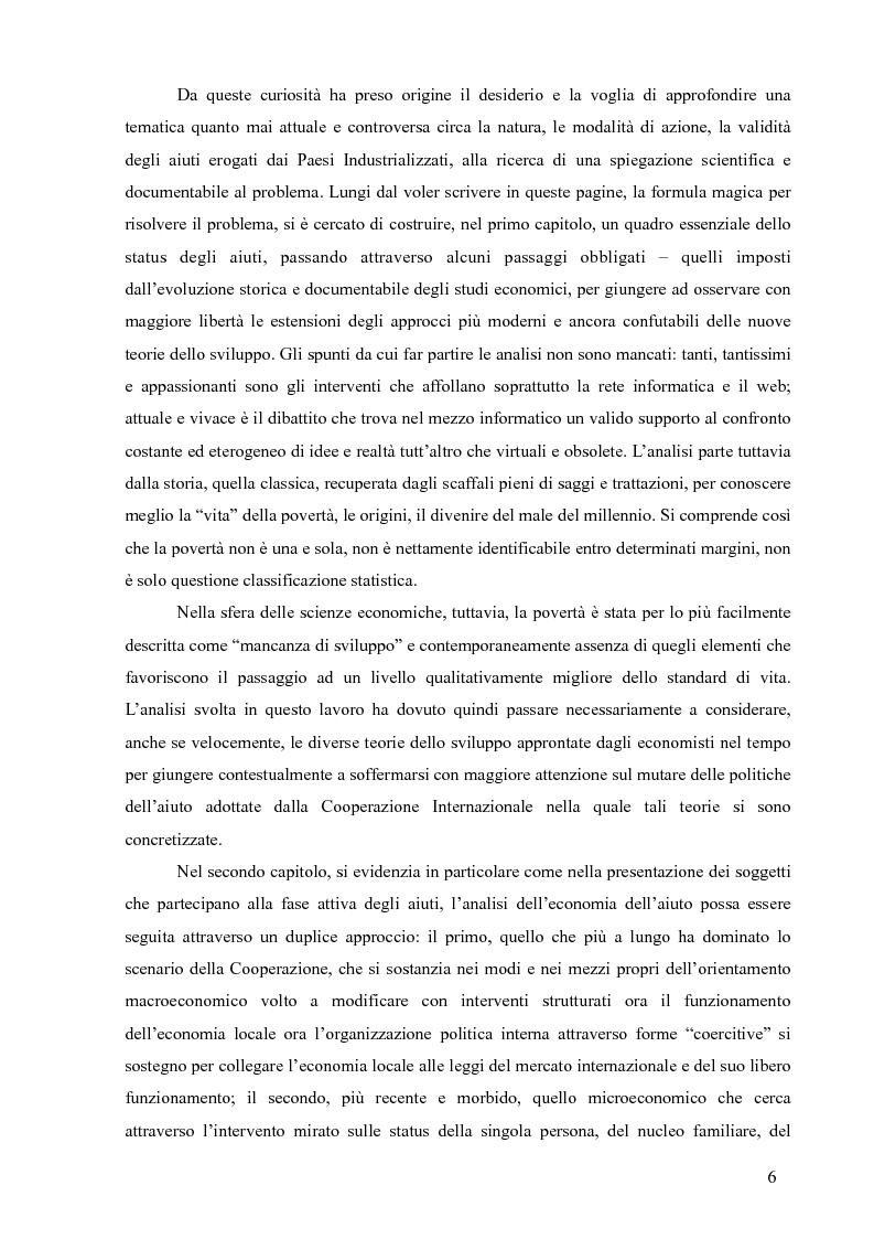 Anteprima della tesi: La Cooperazione Internazionale allo Sviluppo, breve excursus storico (anni 1950 - 1990), Pagina 2