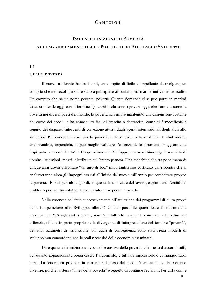 Anteprima della tesi: La Cooperazione Internazionale allo Sviluppo, breve excursus storico (anni 1950 - 1990), Pagina 5
