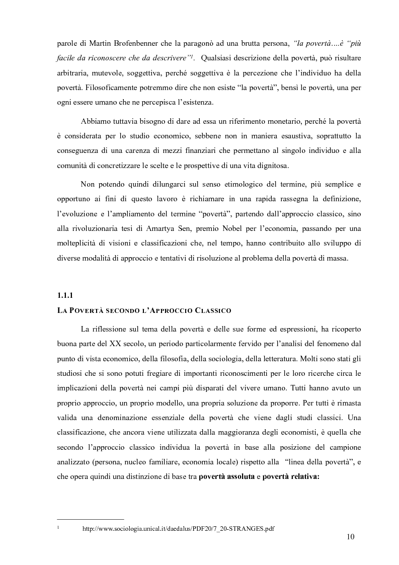 Anteprima della tesi: La Cooperazione Internazionale allo Sviluppo, breve excursus storico (anni 1950 - 1990), Pagina 6