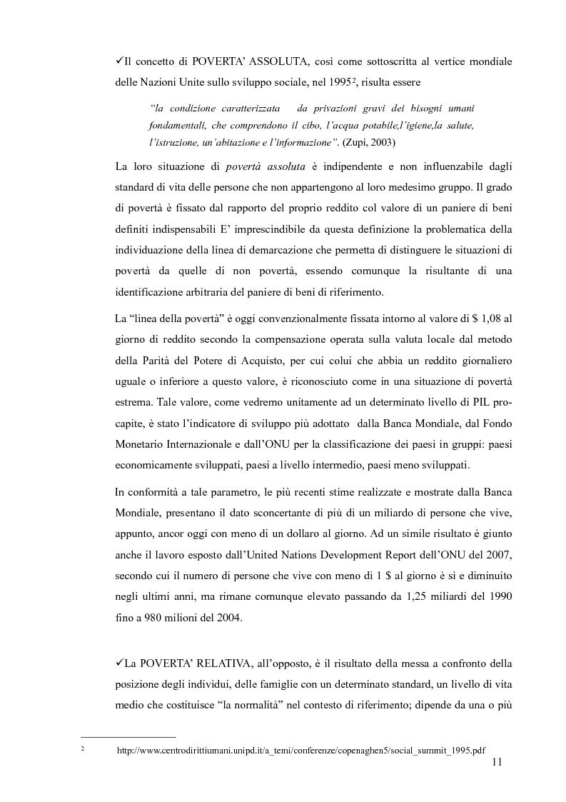 Anteprima della tesi: La Cooperazione Internazionale allo Sviluppo, breve excursus storico (anni 1950 - 1990), Pagina 7