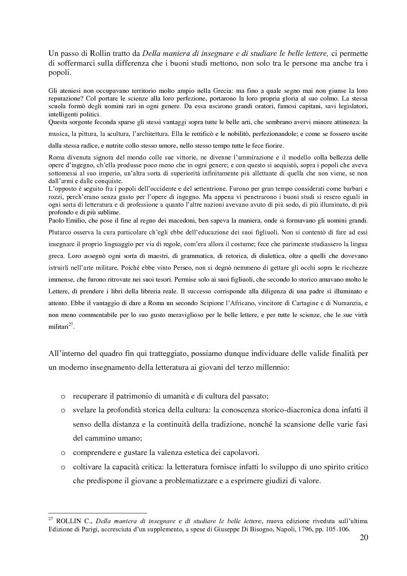 Anteprima della tesi: La didattica della letteratura in una classe di Italiano L2, Pagina 12