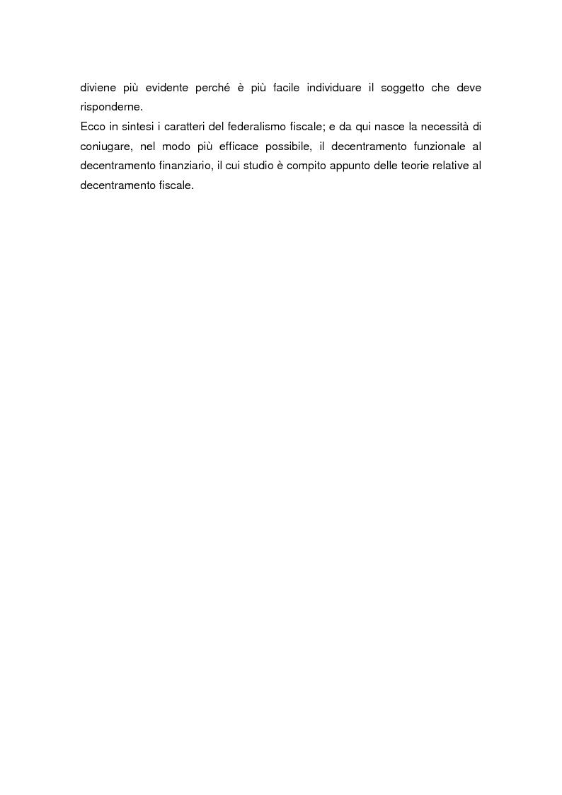 Anteprima della tesi: La legge delega sul federalismo fiscale 42/2009: problemi e prospettive, Pagina 3