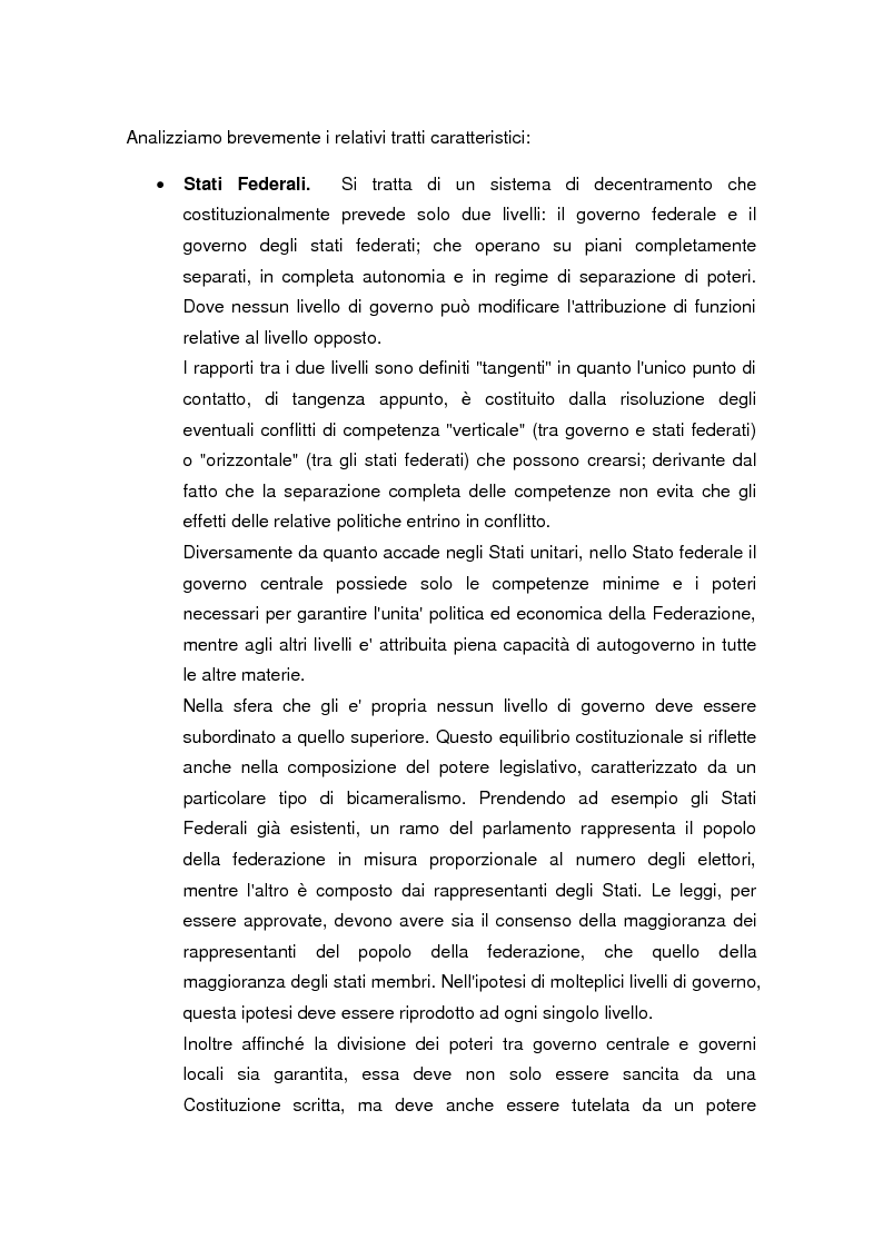 Anteprima della tesi: La legge delega sul federalismo fiscale 42/2009: problemi e prospettive, Pagina 7