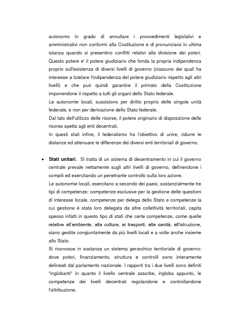 Anteprima della tesi: La legge delega sul federalismo fiscale 42/2009: problemi e prospettive, Pagina 8