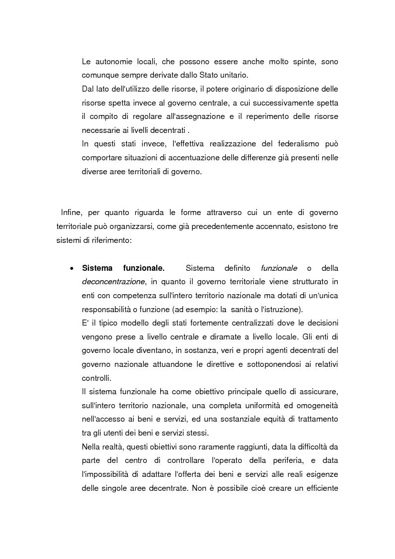 Anteprima della tesi: La legge delega sul federalismo fiscale 42/2009: problemi e prospettive, Pagina 9