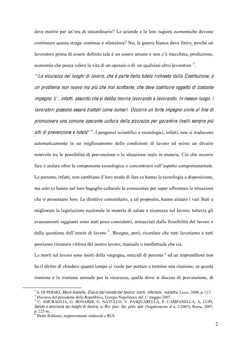 Anteprima della tesi: La sicurezza sul lavoro e l'interazione con la musica, Pagina 2