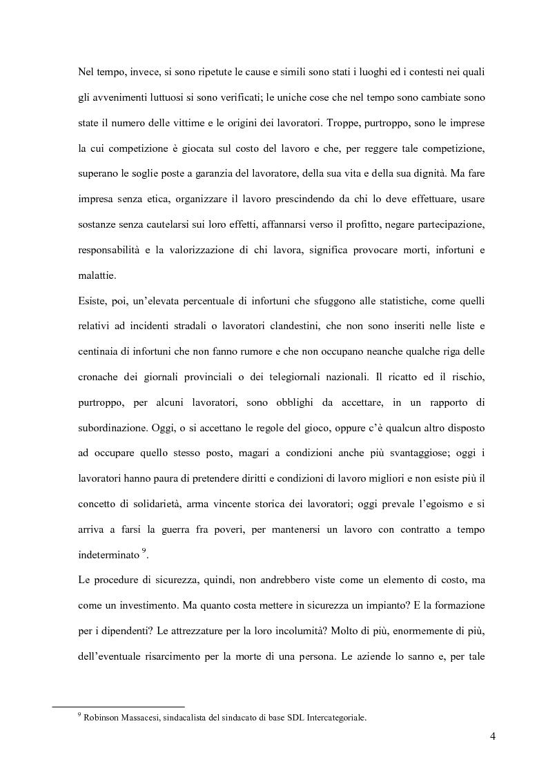 Anteprima della tesi: La sicurezza sul lavoro e l'interazione con la musica, Pagina 4