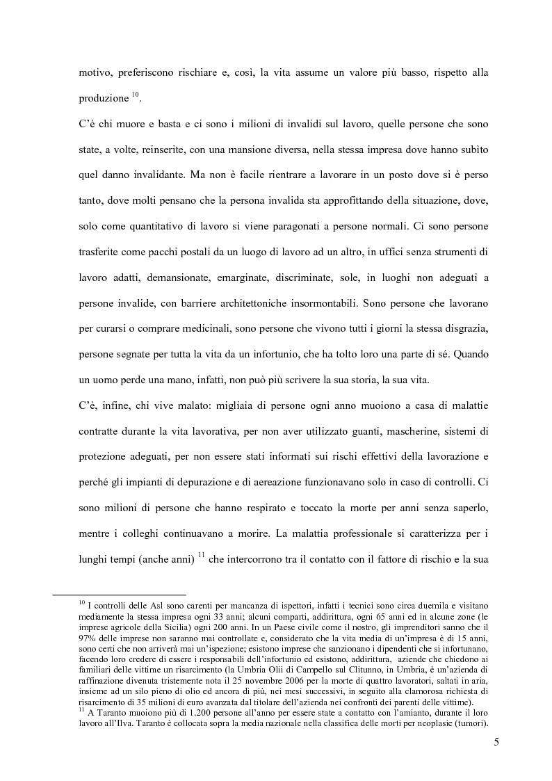 Anteprima della tesi: La sicurezza sul lavoro e l'interazione con la musica, Pagina 5