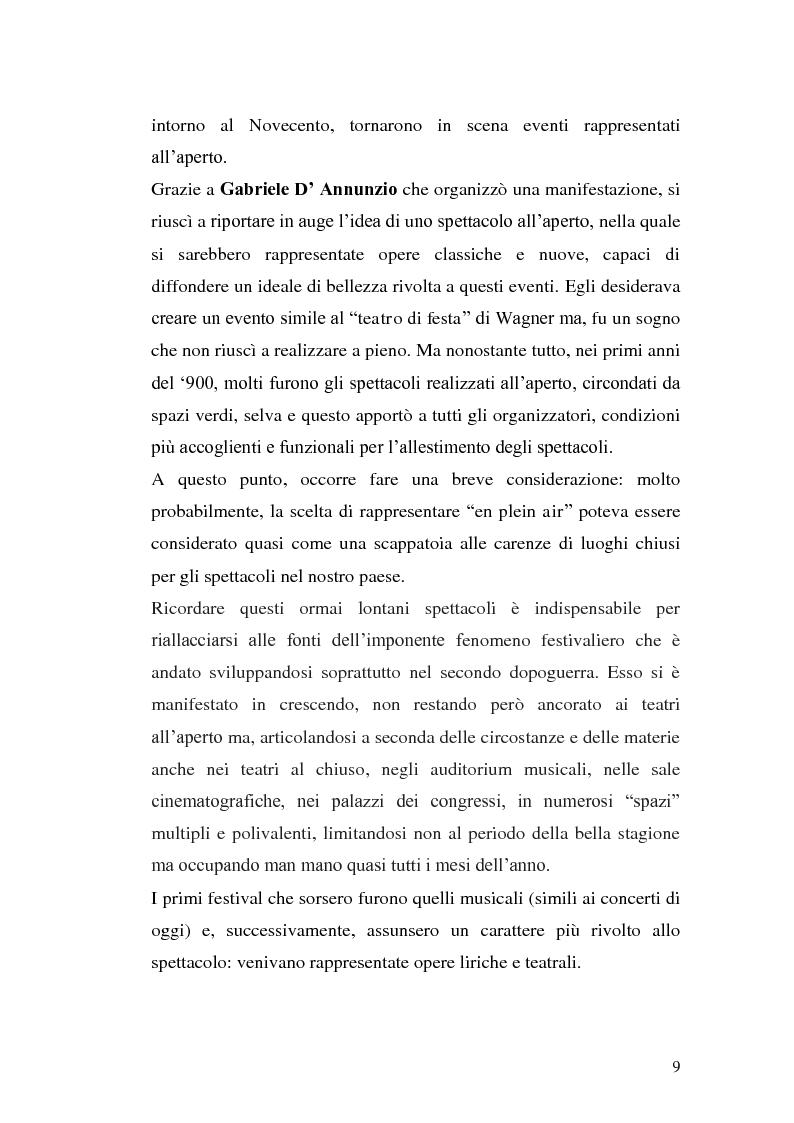 Anteprima della tesi: Un film festival in Abruzzo come promotore dello sviluppo turistico, Pagina 9