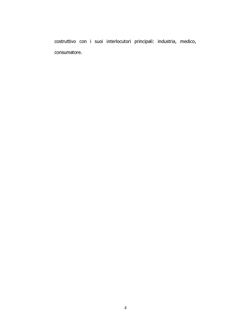 Anteprima della tesi: Il marketing nelle farmacie, Pagina 4