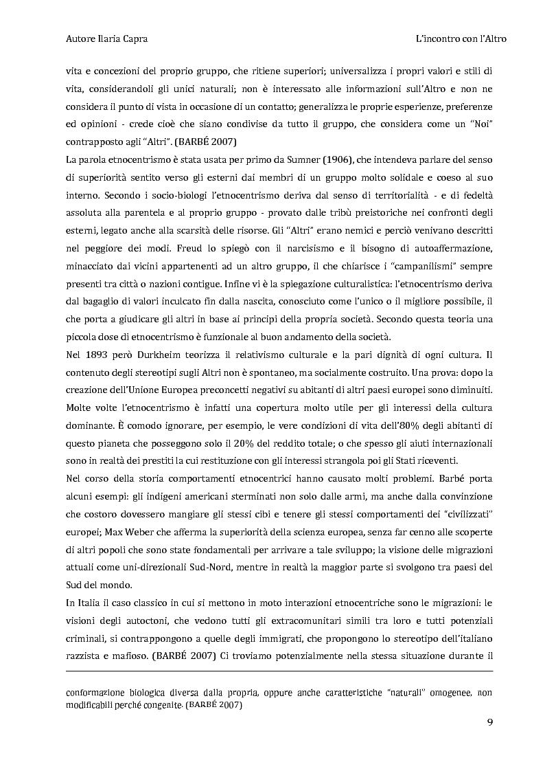 Anteprima della tesi: L'incontro con l'Altro - Giovani viaggiatori in Burkina Faso, Pagina 6