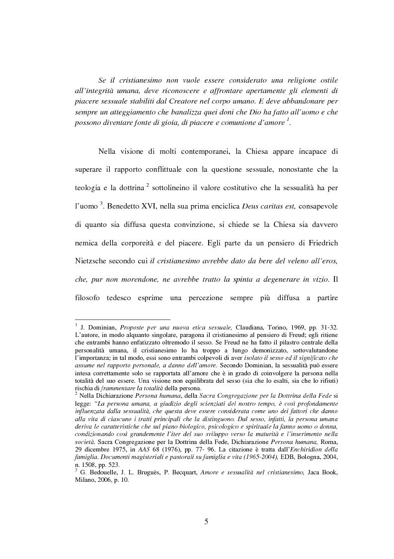 Anteprima della tesi: Il matrimonio nel Magistero della Chiesa cattolica: dall'Arcanum divinae sapientiae (1880) alla Humanae vitae (1968), Pagina 2