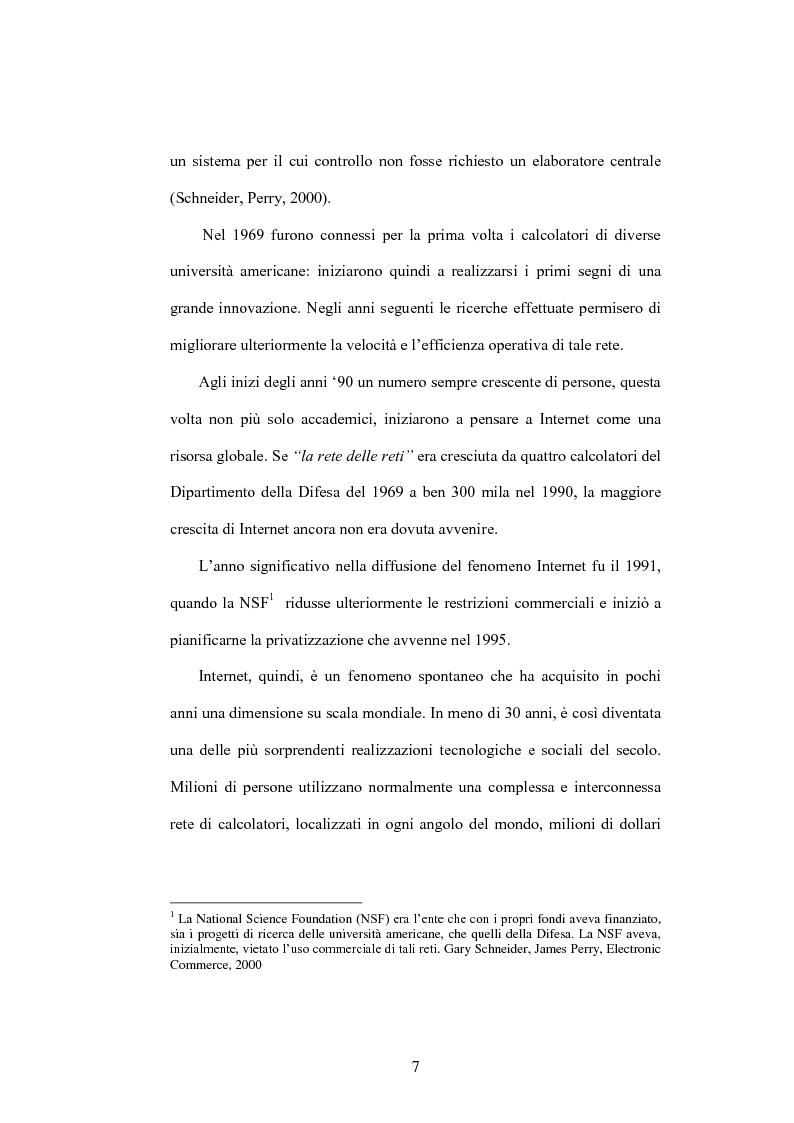 Anteprima della tesi: E-commerce come opportunità di sviluppo per le Piccole e Medie Imprese, Pagina 6